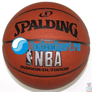 Мяч баскетбольный Spalding Silver Indoor/Outdoor  74523/74340 Sz7; фотография №1